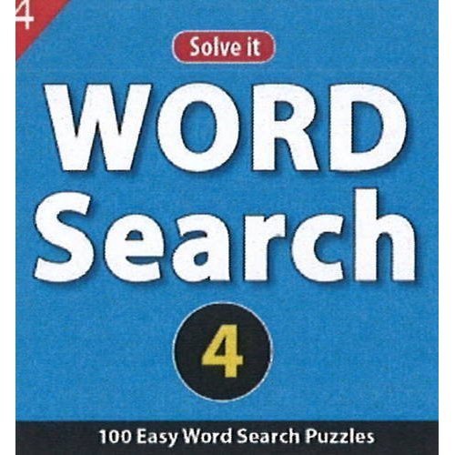 Word Search 4: 100 Easy Word Seach Puzzles [Jul 23, 2013] Leads Press