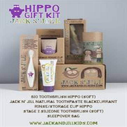 Jack N Jill Jack N' Jill Gift Kit Hippo