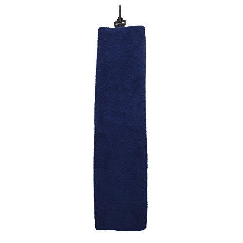 "ProActive Sports Plush Microfiber 16"" x 22"" Tri Fold Golf Towel (Navy)"