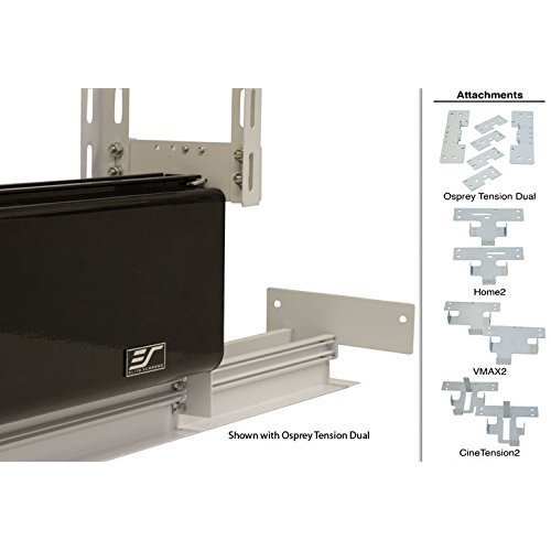 Elite Screens Universal Ceiling Trim Kit for Concealed Hidden In ceiling Projector Screen Installation ZCU3