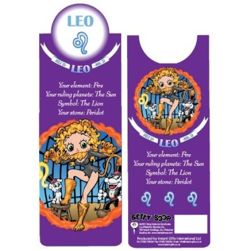 Betty Boop Leo Bookmark
