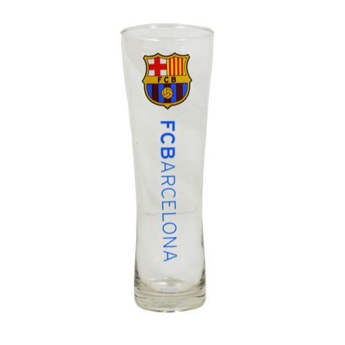 Barcelona Official Tall Beer Glass - Multi-colour - Fc Football Peroni Club Pint -  glass barcelona beer fc tall official football peroni club pint