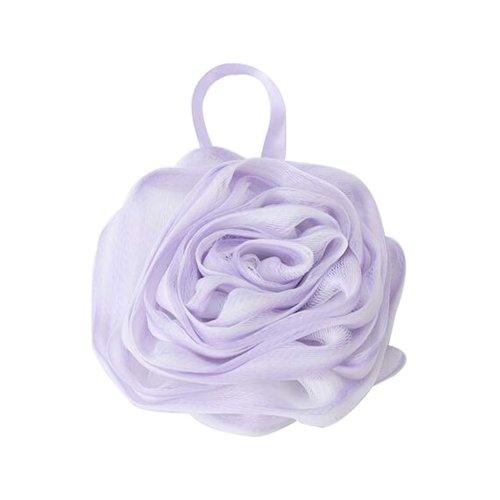 Soft Bath Ball Beautiful Rubbing Bath Towel, Purple