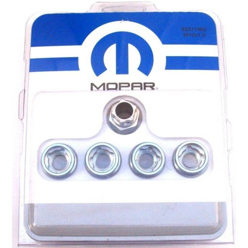 Chrysler Genuine New Mopar Locking Wheel Bolt Set M12 x 1.5 82211462
