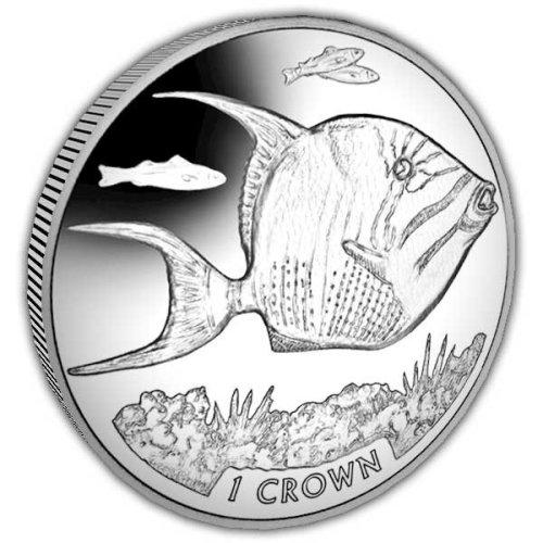 Ascension Island 2019 Queen Triggerfish Unc Cupro Nickel Coin