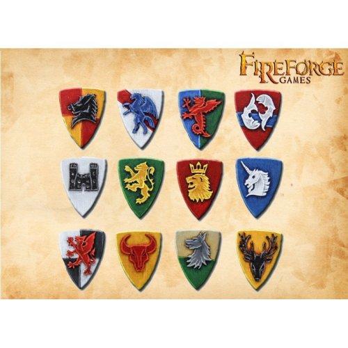 Fireforge Games Fantasy Shields