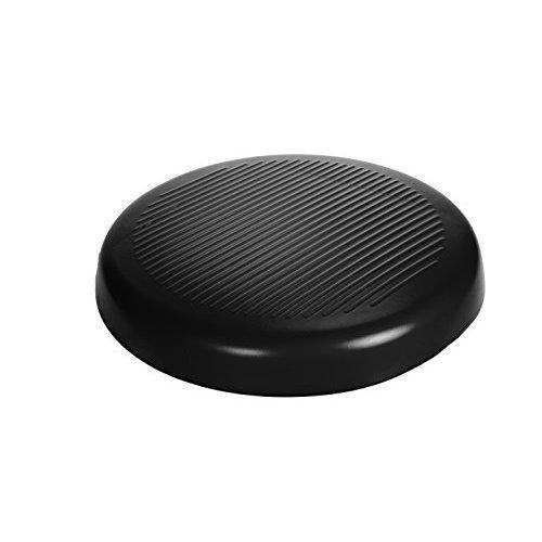 CanDo Aerobic Pad, Black, 20 Inch Diameter