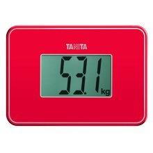 Tanita Super Compact Multi Purpose Digital Weighing Scale Red (HD386RD)