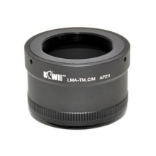 Kiwifotos Lens Mount Adapter for T and T2Lens to Canon EF-M EOS-M)