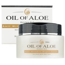 6 x Oil Of Aloe Moisture Rich Anti Wrinkle Night Cream With Aloe Vera 6 x 50ml