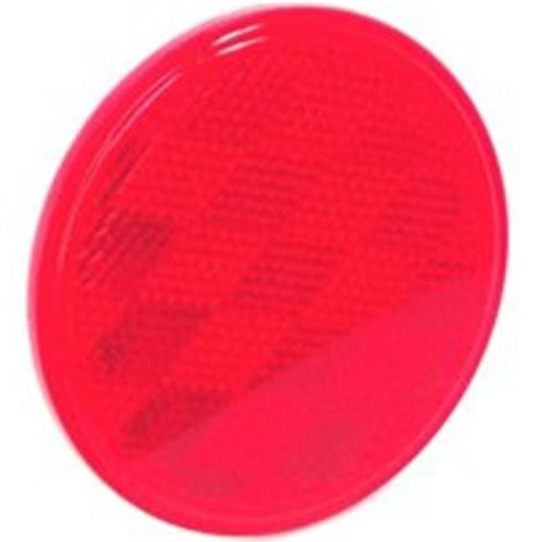 United States Hardware RV-659C 3 in. Red Reflector