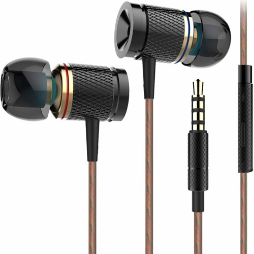 In-Ear Headphones Compatible Smartphone, Tablet 3.5mm Audio Device