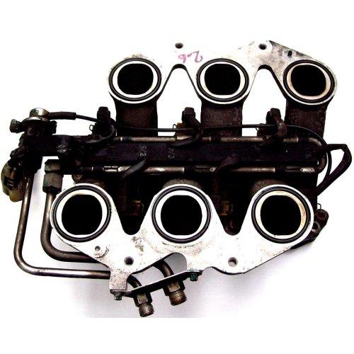 Vauxhall Opel Omega 2.6 V6 Inlet Manifold + Injectors + Flange Gasket