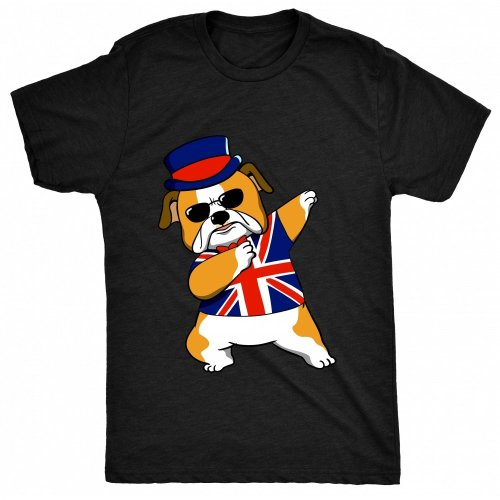 3c12b9a6e 8TN Dabbing British Bulldog Mens T Shirt on OnBuy