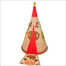 Traditional Garden Games Childrens Wigwam Play Tent Indoor or Out