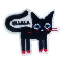 Set of 2 Creative Lovely Cat Unique Patches Armband Badge Applique 2.3*1.9""