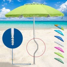 GiraFacile® Beach Parasol UV Protection Aluminium Windproof APHRODITE