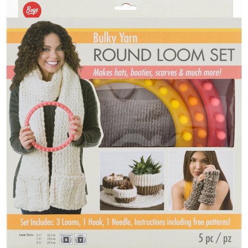 Boye Circular Bulky Loom Set-