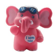 Pink Elephant Coin Holder Piggy Bank Great Gift for Kids