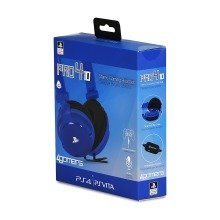 4gamers Stereo Gaming Headset for Playstation 4 Ps4 Blue