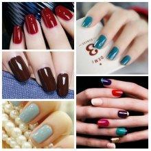 90 Pure Colors 15ML Soak Off UV Gel Nail Art Polish Varnish