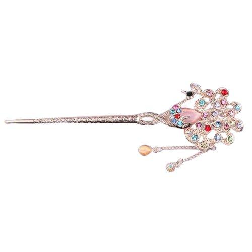 Classical Moods Hairpin Hair Ornaments Hair Clip Headwear Crown Colorful