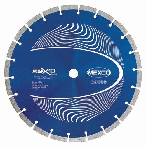 Mexco GPX10 300mm General Purpose Diamond Blade