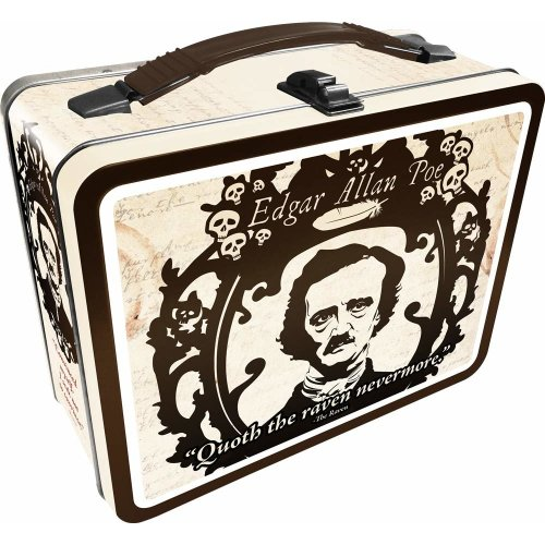 Lunch Box - Edgar Allen Poe - Gen 2 Fun Box New 48214