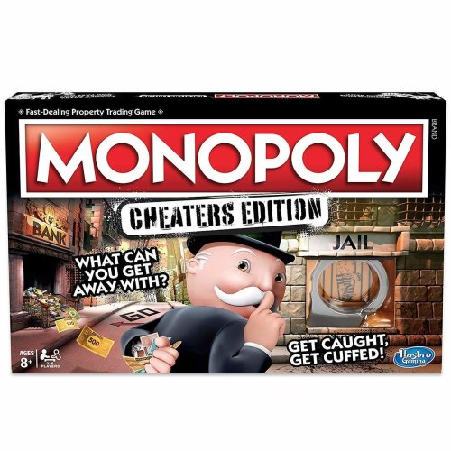 Monopoly Cheaters Edition - Family Board Game