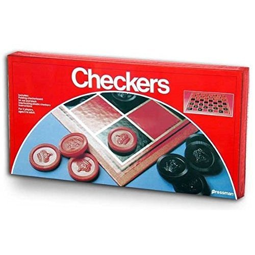 Checkers Folding Board Game