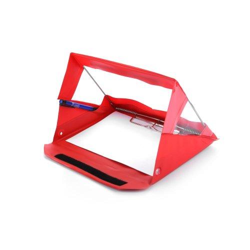 A5 Landscape Waterproof Clipboard by RainWriter - Red - LIFETIME WARRANTY