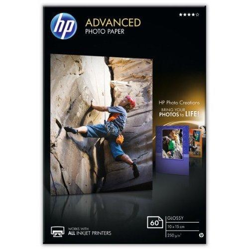 HP Advanced Glossy Photo Paper 250G/M2 10x15 60 Sheets
