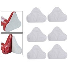 Set of 6 Microfibre Steam Mop Floor Washable Replacement Pads for H2O H20 X5 UK