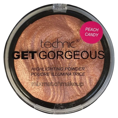 Technic Get Gorgeous Highlighting Powder ~ Peach Candy