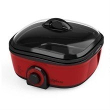 Kitchen M8 8-in-1 Multi Cooker with Steam Rack and Frying Basket 1300W 5L (KM801R)