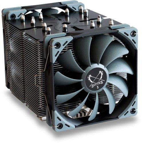 Scythe Ninja 5 Duel Fan High Performance Quiet CPU Cooler NINJA5
