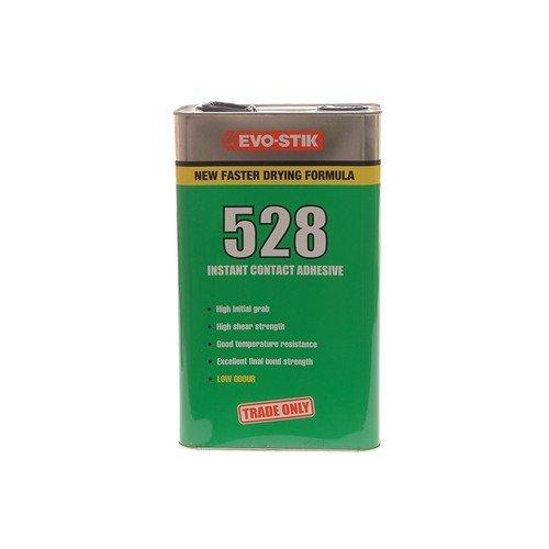 Evo-Stik 30021180 528 Instant Contact Adhesive 5 Litre