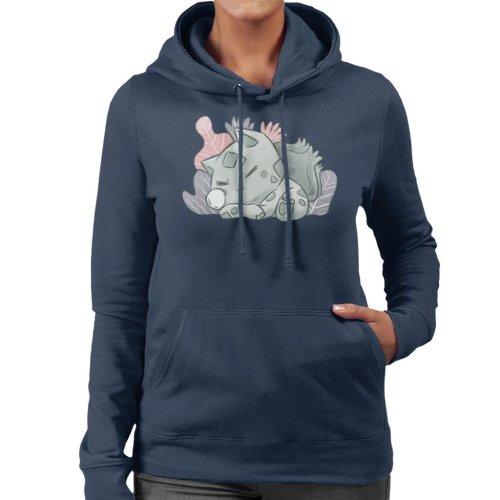 Pokemon Sleeping Bulbasaur Women's Hooded Sweatshirt
