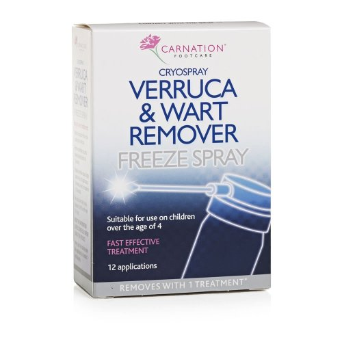 Carnation Verruca & Wart Remover Freeze Spray 50ml