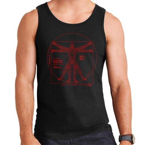 Terminator Vitruvian T800 Men's Vest