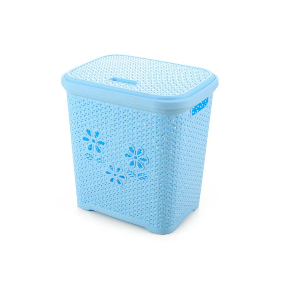 Laundry Basket Plastic Dirty Clothes Toy Snack Storage On