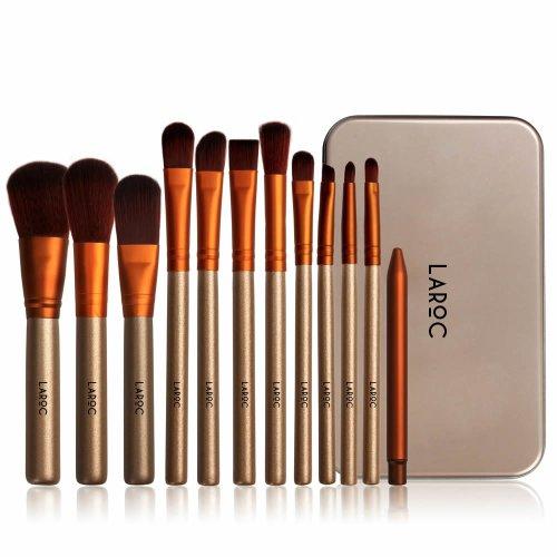LaRoc 12pc Brush Set in Metal Tin