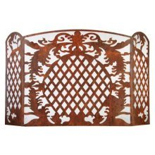 Fallen Fruits Large French Lilly Fire Place Screen