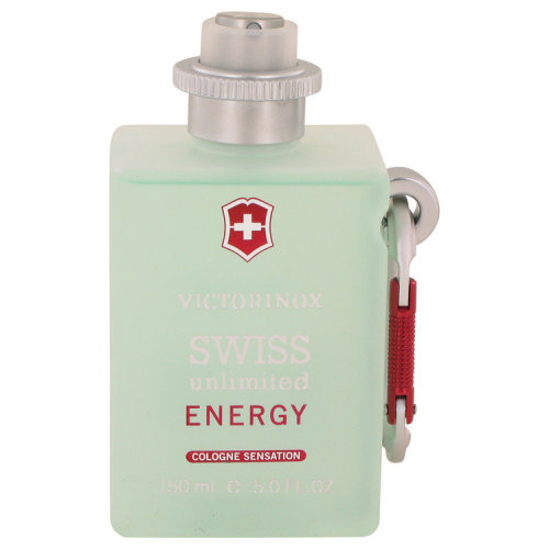 Swiss Unlimited Energy by Victorinox Cologne Spray (Tester) 5 oz