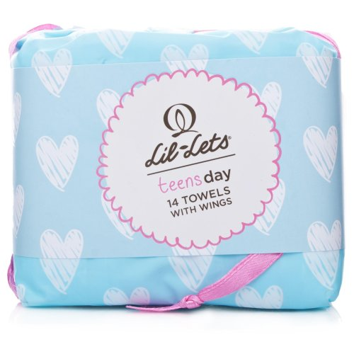 Lil-Lets Teens Ultra Day Towels 14 Towels