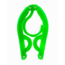 Foldable Stretchable Hanger Easy To Carry For Travel-Green