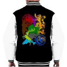 Game Of Thrones Emblems Men's Varsity Jacket