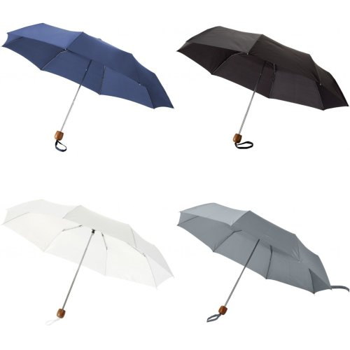 Bullet 21.5 Inch Lino 3-Section Umbrella