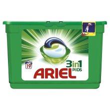 Ariel 3-in-1 Original Liquitabs Bio Washing Detergent Cleaning Pods - 19 Washes