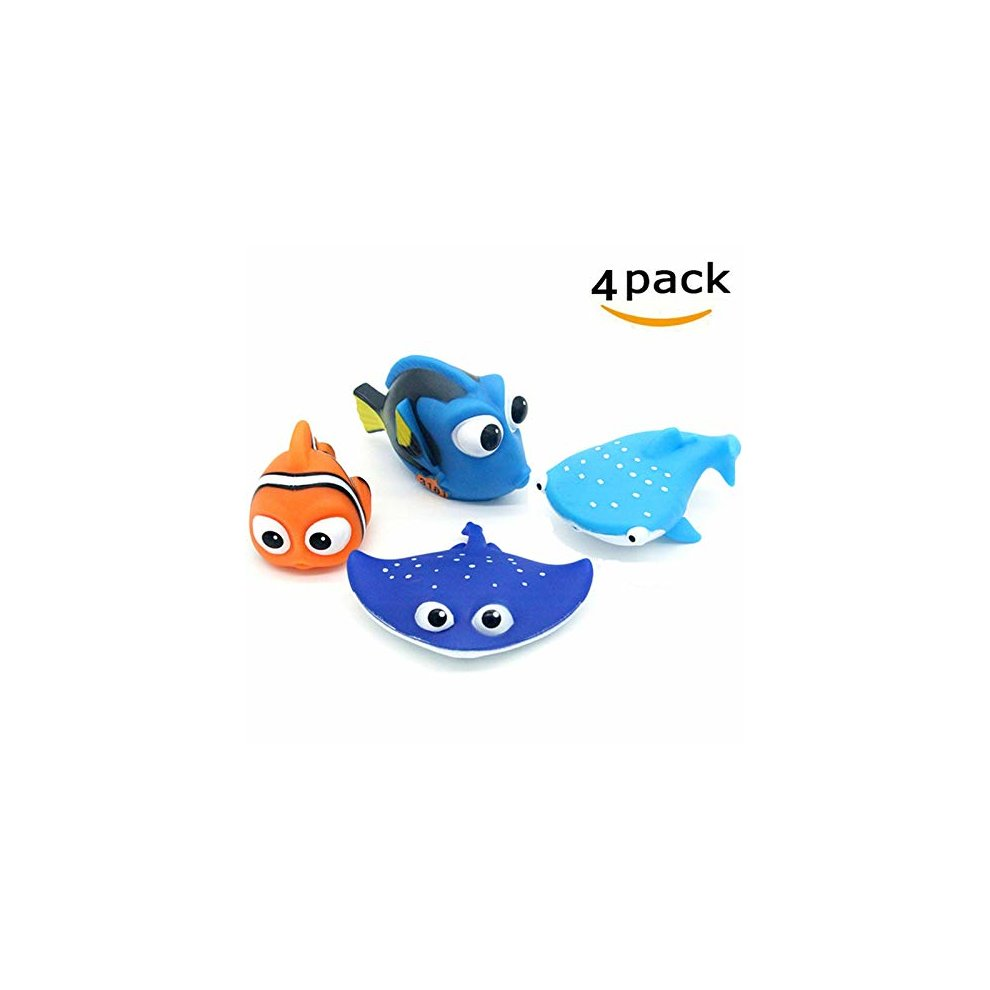 Allcele Baby Bath Toysfinding Dory Nemo Squirt Toys For Baby